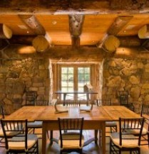 The Adirondack camp look is the perfect decor for cabins and lodges.