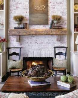 rustic decorating on a budget