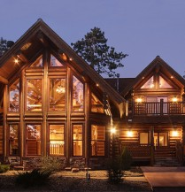 Log homes are beautiful, and with a reasonable amount of maintenance, they can stay that way forever.