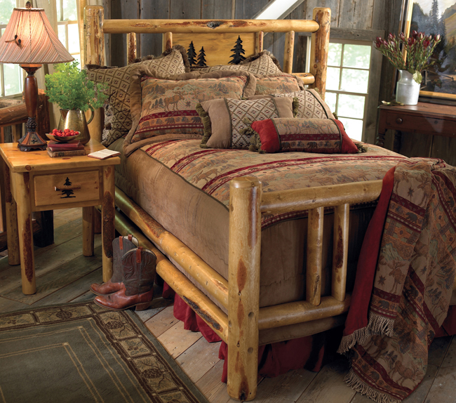 Create A Rustic Look In Your Cabin With Natural Themes At